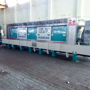 Line Polishing Machine for Granite Slabs