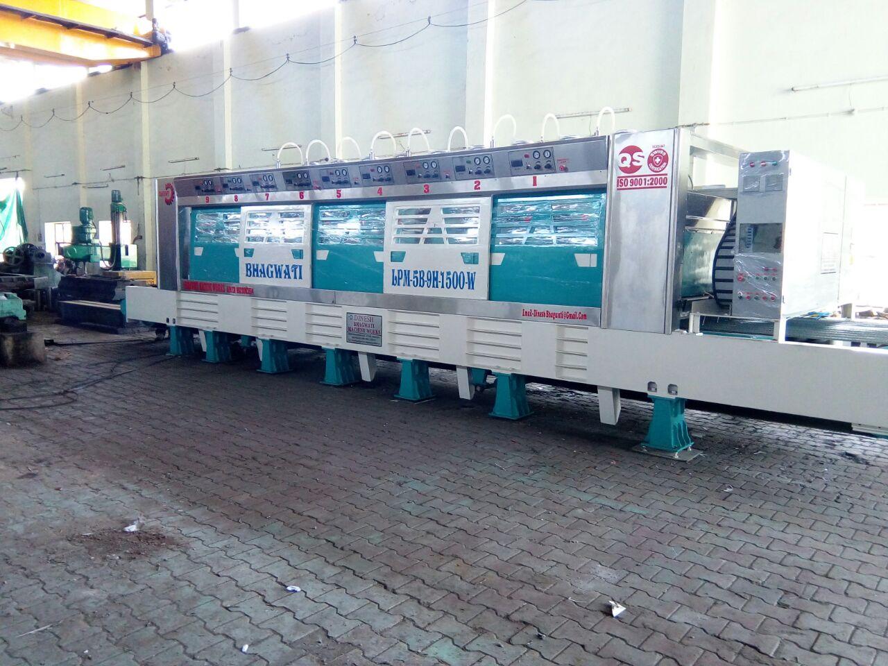 Line Polishing Machine for Granite Slabs